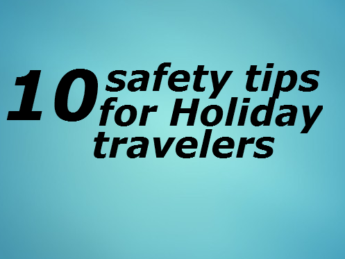 Tips To Drive Safe During The Holidays