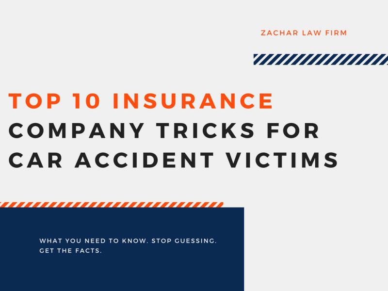 Top 10 Insurance Company Tricks for Car Accident Victims_ What you need to look out for.