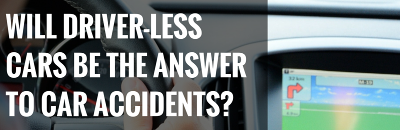 DRIVERLESS CARS AND CAR ACCIDENTS in arizona