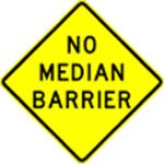 No-median-barrier