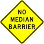 No-median-barrier