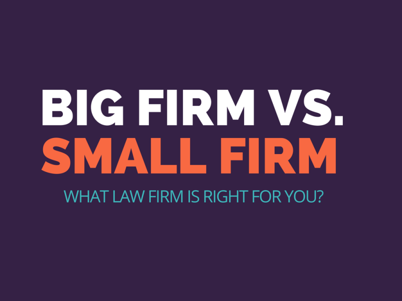Big firm vs. small firm