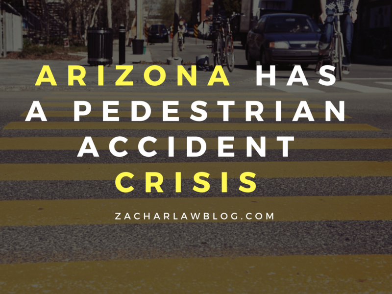Arizona has a pedestrian accident crisis