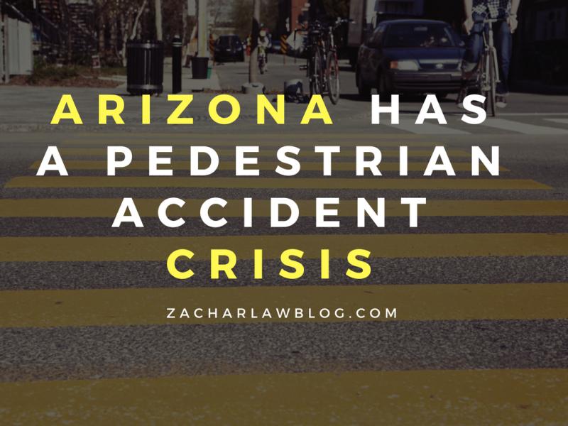 Arizona has a pedestrian accident crisis