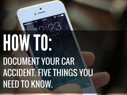 How-to-document-your-car-accident