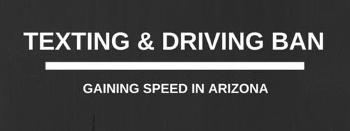 Arizona texting and driving ban