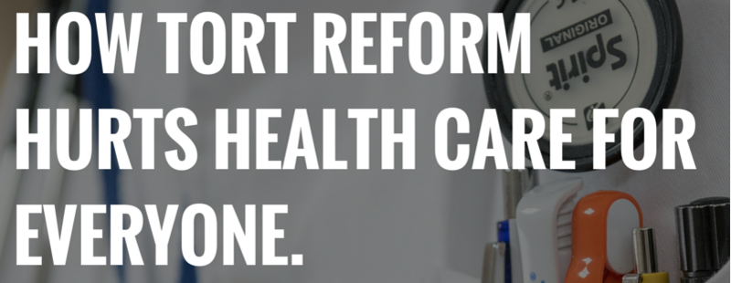 TORT REFORM PHOENIX ARIZONA healthcare