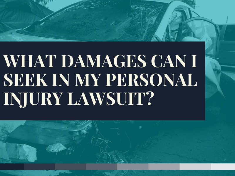 What damages can I seek in my personal injury lawsuit?