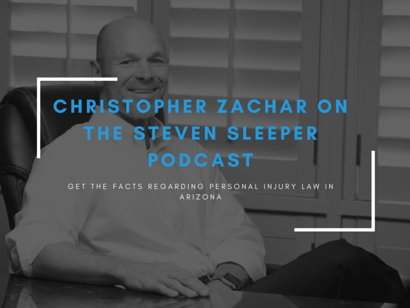 Christopher Zachar on the steven sleeper podcast