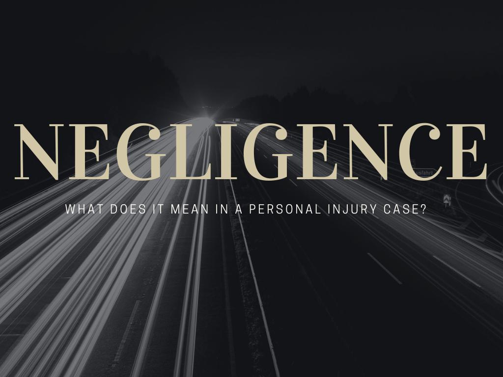 Zachar Law Blog: Negligence