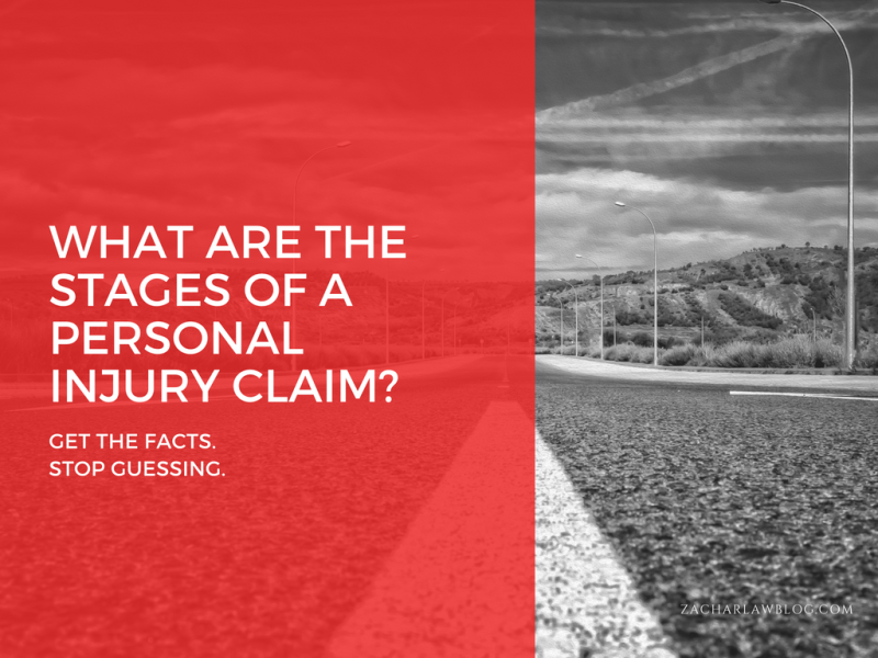 WHAT ARE THE STAGES OF A PERSONAL INJURY CLAIM