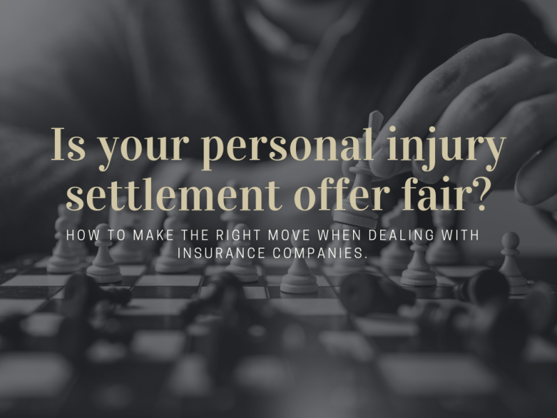Personal injury settlement fair - phoenix- arizona