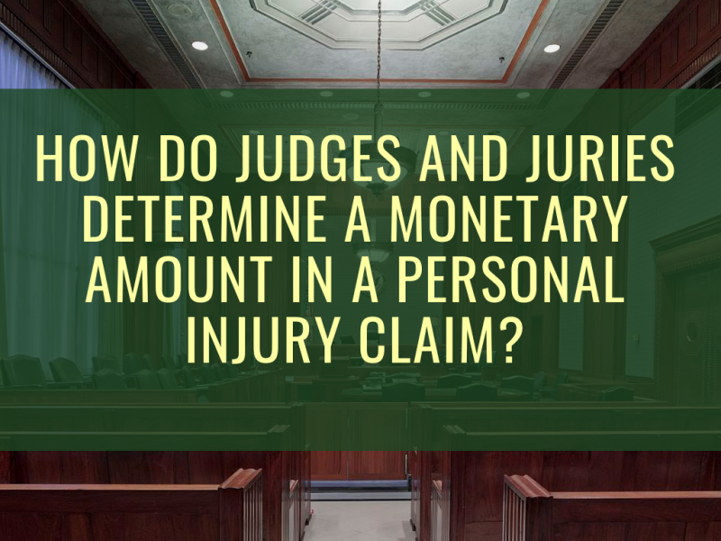 Personal injury claims and money