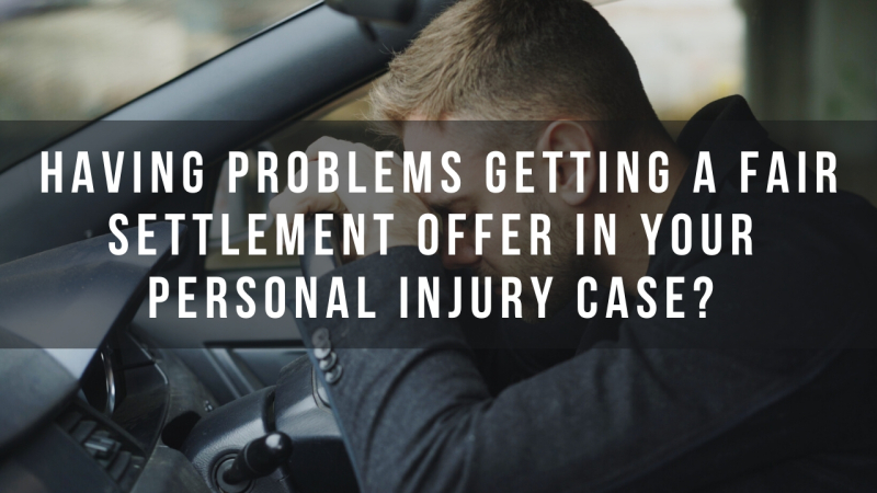 Having problems getting a fair settlement offer in your Phoenix  Arizona personal injury case?