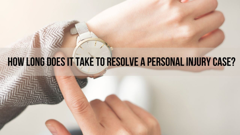 How long does it take to resolve a personal injury case in phoenix arizona?