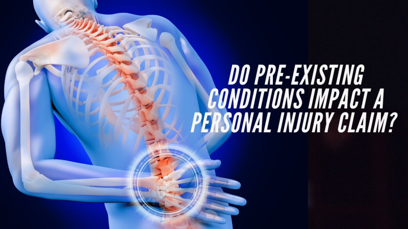 Do pre-existing conditions impact a personal injury claim